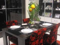 五木家具 餐椅 E11 R10 �\橡黑玻璃 北京 沙河店