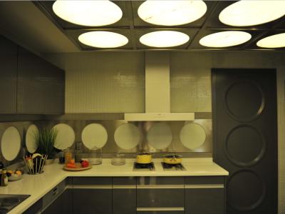 简欧风格-140.15平米三居室装修样板间