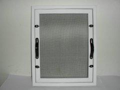 意美达牌框中框可拆洗固定纱窗