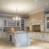 康洁整体家居-古典系列圣马力诺厨柜