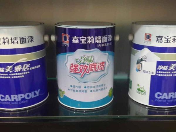 环渤海嘉宝莉净味美雅居一底两面墙漆
