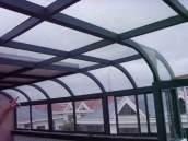 美景阳光露台系列断桥铝门窗中空玻璃隔热阳光房,厂家直销