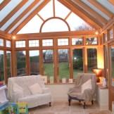 美景阳光铝木120系列别墅高档阳光房,铝包木庭院露台阳光房