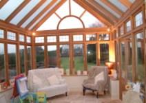 美景阳光铝木120系列别墅高档阳光房,铝包木庭院露台阳光房图片