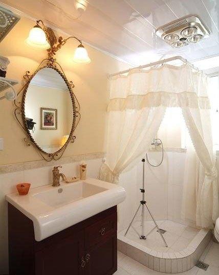 田园风格88平米二居室装修效果图高清图片