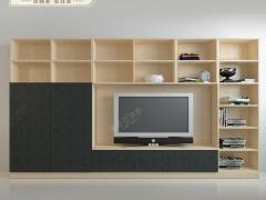 索菲亚 米拉波系列现代简约组合式电视柜 柜门