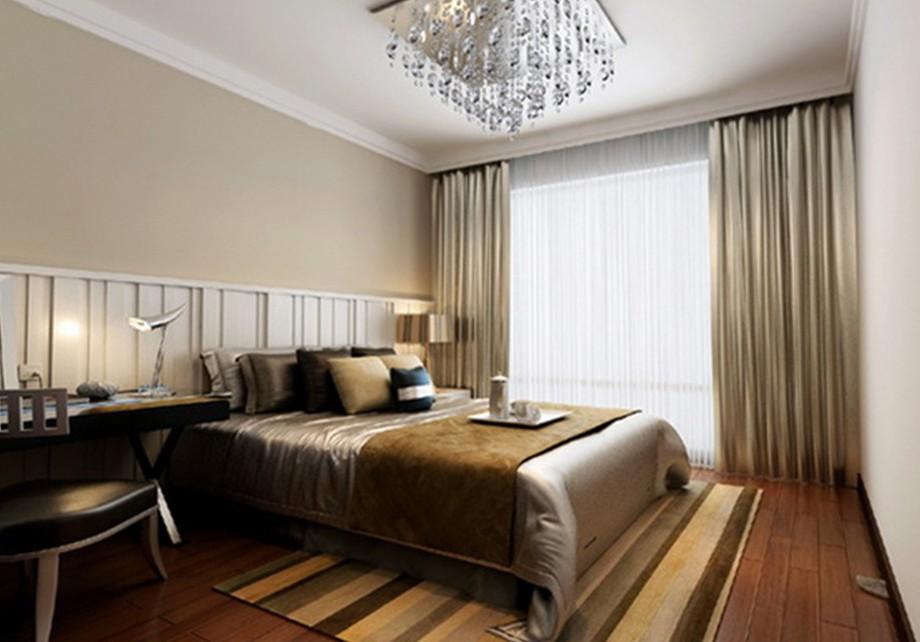 灯具装修效果图 现代风格四居室客厅灯具装修效果图高清图片