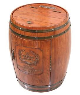 精美橡木桶电子酒柜