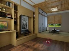 千代和室榻榻米 实木衣柜 衣柜定制 环保材质 衣帽间