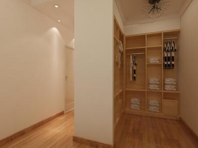 简欧风格-110平米三居室装修样板间