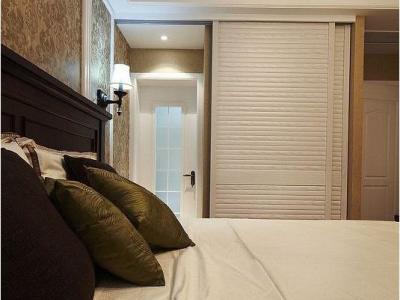 现代美式-118平米三居室装修样板间
