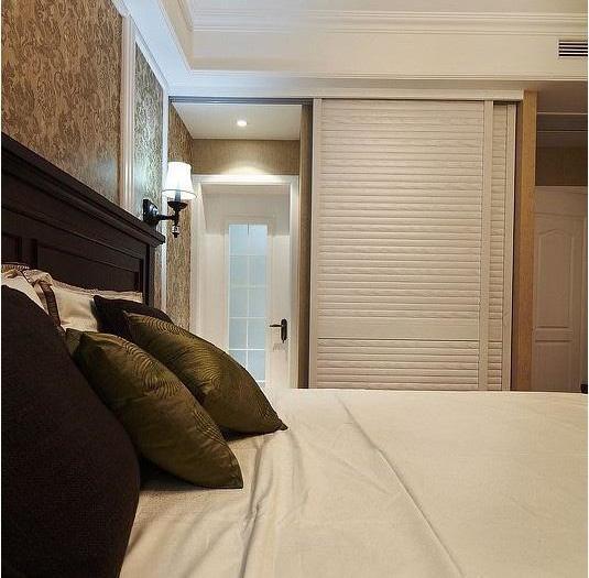 现代美式-118平米三居室-装修样板间