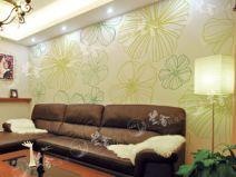 兰舍硅藻泥-除甲醛环保壁材-壁纸花系列98图片