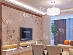 兰舍硅藻泥-除甲醛环保壁材-对角花系列57