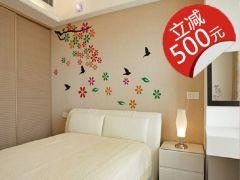 兰舍硅藻泥-除甲醛环保壁材-卧室系列102