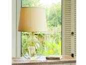 美式乡村玻璃台灯田园温馨可调光卧室床头灯北欧宜家现代简约台灯