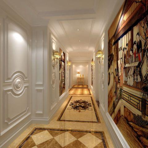 欧式玄关背景墙装修效果图大全2图片