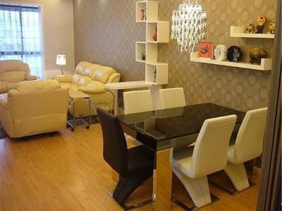 现代简约-60.91平米一居室装修样板间