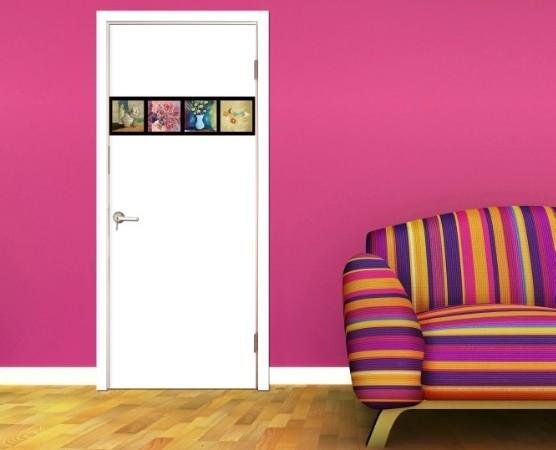 圣象标准门/实木复合门/木门/卧室门花谢语 CP-432