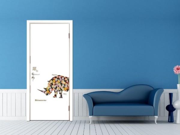 圣象标准门/实木复合门/木门/卧室门 幻彩犀牛 CP444