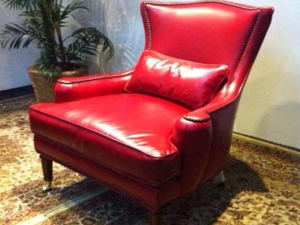 单人位休闲沙发(红,蓝,绿三色可选)