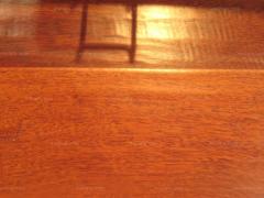 宜华家居 现代风格红玫瑰染红檀香仿古地板 环保自然 经久耐用