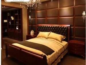 索菲亚定制1.8米1.5米双人床 经典E款床 欧式板式家具