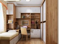 索菲亚家具定制 全屋卧室书柜 衣柜 床组合家具套餐设计