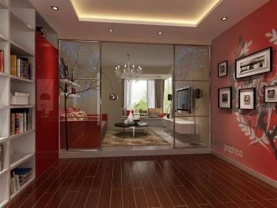 新古典风格-60平米一居室装修样板间