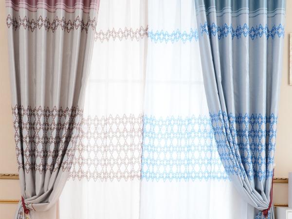 高档遮光布,提花布,窗帘布厂家直销,定制窗帘
