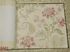 欧式风格 田园风情 高档纯纸墙纸 客厅 卧室 背景墙壁纸05