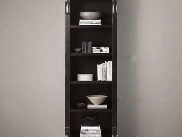 艾琳娜法式美式乡村实木复古书柜 书架 餐边柜Alinna-1