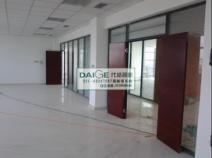 上海代格双层内置百叶玻璃隔断墙 办公室隔断图片