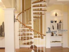 钢木楼梯 阁楼楼梯 百姓园楼梯