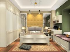 尚品宅配 卧房家具18件套定制A17239 免费量尺