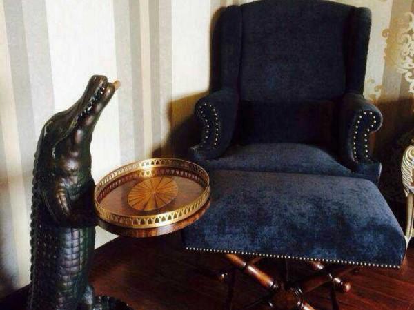 装饰鳄鱼(黄铜饰品)