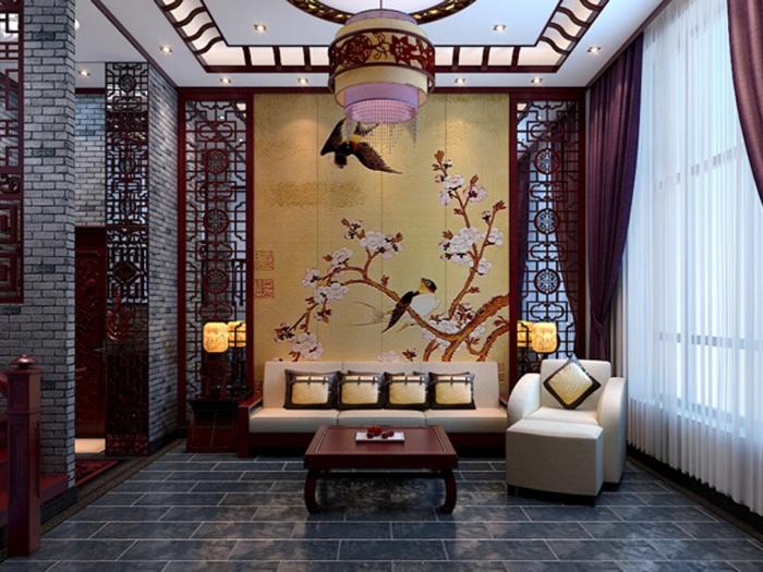 中式古典-170平米四居室-装修设计