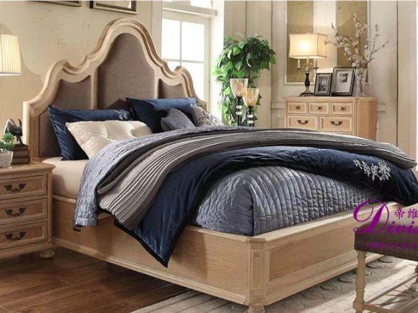 帝维森法式乡村风格床头柜 卧室床边柜收纳柜DWS-021