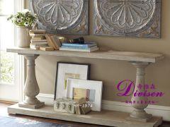 帝维森法式新中式现代玄关桌 实木沙发背桌 DWS-123
