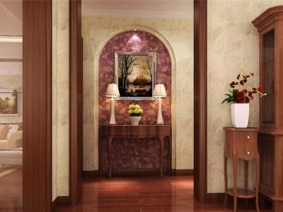 新古典风格-101.7平米二居室装修样板间