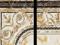 德臣娜瓷砖 KY75432 地面抛光砖 地毯花砖