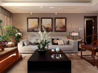 中式风格-160平米三居室装修样板间