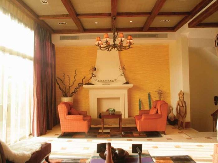 东南亚风格-350平米四居室-装修样板间