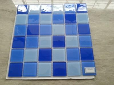 佛山水晶玻璃马赛克泳池瓷砖批发 厂家优惠