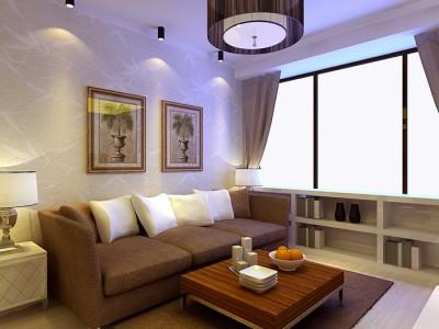 混搭风格-70平米二居室装修样板间