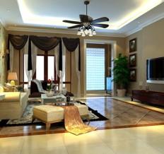 亚运新新家园-西式古典-四居室