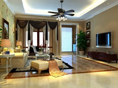 西式古典-261平米四居室装修样板间