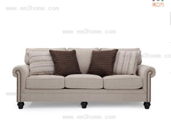 美立方家居---三人位沙发
