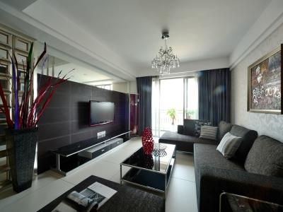 现代简约-59平米一居室装修样板间