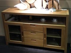 尚岛木业SD-C01 客厅实木餐边柜 现代简约榆木实木餐边柜
